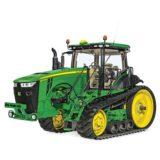 tracteur a chenilles john deere