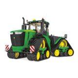 tracteur chenilles 9RX