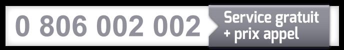 numéro unique atelier 0806002002