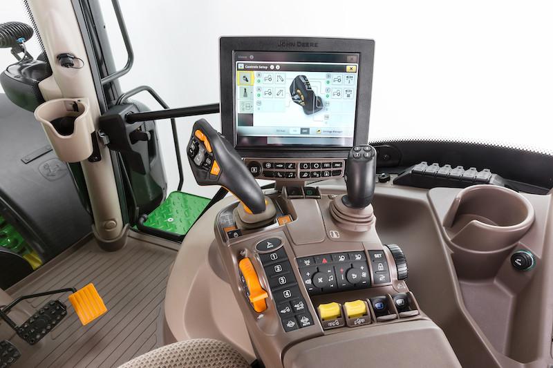 cabine 6195R tracteur john deere