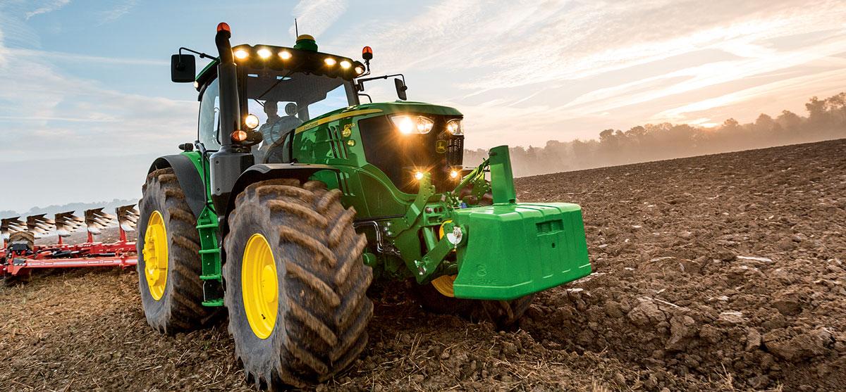 tracteur john deere 6R promo